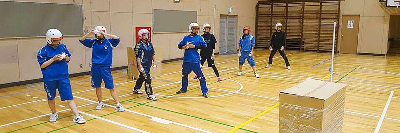 〜親子で体験企画〜 スポーツ室内雪合戦