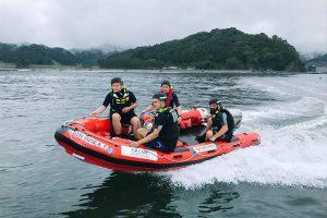 「 自分たちの命は自分たちで守る!part2」ウェールズ号乗船体験 〜日本初 英国式ボートレスキュープログラムを学ぼう〜