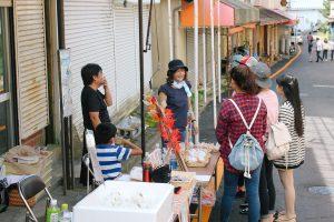 釜石大観音仲見世商店街のシャッターを塗り替えよう!